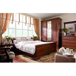 Miegamojo komplektas KENT ( lova su pakėlėju)