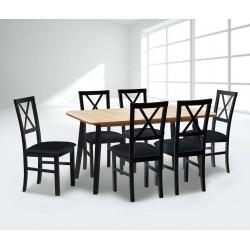 Valgomojo komplektas (stalas ir 6 kėdės)